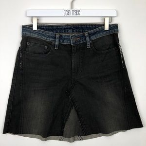 6397 Skinny Skirt Skinny Dirty Fade